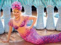 The fuchsia fish-scale print panne velvet mermaid costume Bette Midler wore during  The Showgirl Must Go On  in Las Vegas is among the more than 300 items up for auction Nov. 12.