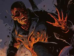 A murdered man is resurrected as a monstrous vigilante in Top Cow's Fleshdigger.