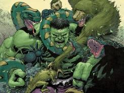 Even though he's free from Bruce Banner, the Hulk still runs into a lot of trouble on his own in The Incredible Hulk.