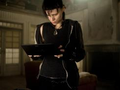 Rooney Mara stars in the Hollywood version of 'The Girl with the Dragon Tattoo' with Daniel Craig.