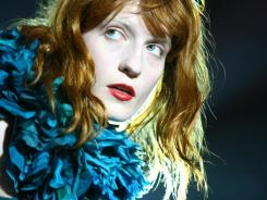 Florence and The Machine performs  at Central Park SummerStage on June 24 in New York City.  (Photo by Neilson Barnard/Getty Images) ORIG FILE ID: 117248759