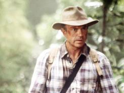 Sam Neill played the intrepid paleontologist Alan Grant in two of the  three 'Jurassic Park' films.