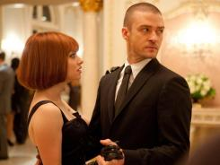 Time literally is money in the new film 'In Time,' starring Amanda Seyfried and Justin Timberlake.