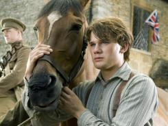 Steven Spielberg's Christmas Day release, 'War Horse,' starring Jeremy Irvine, is already getting Oscar buzz.