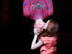 Carney and Jennifer Damiano star in 'Spider-Man: Turn Off The Dark.'