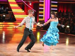 """I'm grateful that we've been doing as well as we have,"" Ricki Lake says of her performance with partner Derek Hough."