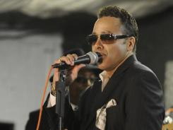 Morris Day is the man on the microphone for the Original 7ven, the artists formerly known as The Time. The group recently released its first album in 21 years.
