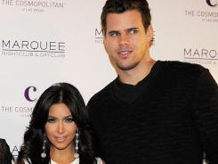 "Kris Humphries said in a statement on Monday that he was ""devastated"" by Kim Kardashian's divorce filing."