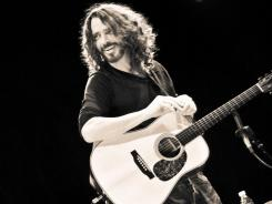 Chris Cornell is doing a solo, acoustic tour and releasing a live album, 'Songbook.'