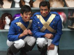 John Cho and Kal Penn are back as Harold and Kumar in the new 3-D Christmas film.