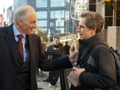 Class contradictions: Alan Alda plays a billionaire and Ben Stiller is a  building manager in 'Tower Heist .'