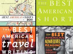 The 'Best American' comics, short stories, travel writing and nonrequired reading.