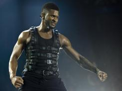 An April concert in England by R&B star Usher comes to home video in high-definition with the 104-minute 'OMG Tour — Live From London.'