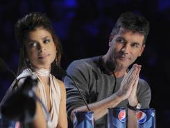 Mentors/judges Paula Abdul and Simon Cowell: Even the normally nasty Brit was complimentary to nearly all the 'X Factor' acts.
