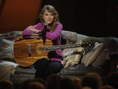 Taylor Swift has been named CMA entertainer of the year twice.