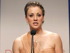 Actress Kaley Cuoco, who also will be the host of the 2012 People's Choice Awards, announces this year's nominees.