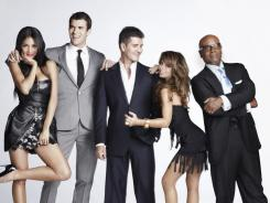 On movie night, the 'X Factor' judges argued like cartoon characters -- but who did they like?