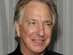 'The Song of Lunch,' starring Alan Rickman and Emma Thompson, airs Sunday on PBS.