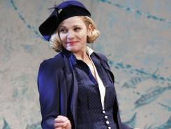 Kim Cattrall takes on Broadway as the leading lady in a new revival of Noel Coward's 'Private Lives,' opening Thursday.