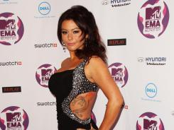 Jenni Farley stars in the reality show, 'Jersey Shore.'