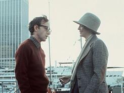 Woody Allen:  He helped his  Annie Hall  co-star through a difficult time.