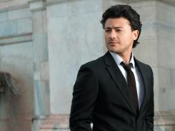Opera tenor Vittorio Grigolo has released a new album,'Arrivederci.'