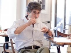 "Alexander Payne says the enthusiastic reception 'The Descendants' got at the Toronto Film Festival ""calms the nerves."""