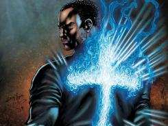 After taking his life, a man is recruited by an angel to fight against evil on Earth in Top Cow's Seraph.