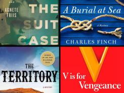 Mystery roundup: 'The Boy in the Suitcase,' 'A Burial at Sea,' 'The Territory,' 'V is for Vengeance'