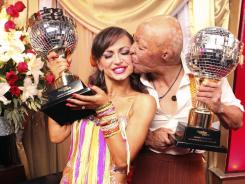 Martinez and Karina Smirnoff were crowned 'Dancing with the Stars' champions on Tuesday night.