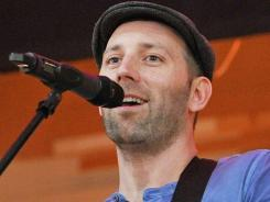"""I love experimenting with beats and grooves,"" says Mat Kearney, who grew up listening to rap and the many sounds of  Paul Simon."