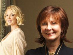 Author Janet Evanovich, right, saw Katherine Heigl as Stephanie Plum, but had no say in her casting. The film is due Jan. 27.