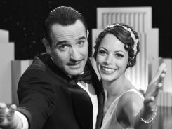 In 'The Artist,' Jean Dujardin portrays George Valentin, left, and Berenice Bejo portrays Peppy Miller.