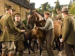 'War Horse', based on a popular young-adult novel, tells the Odyssey-like tale of a horse sold to the war effort during the first World War.