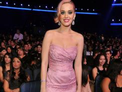 Katy Perry had the distinguished duty of announcing the nominees for album of the year at the 'Grammy Nominations Concert Live!!' in Los Angeles.