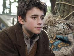Charlie Rowe stars as Peter, who gets sent to Neverland among the Native Americans, pirates and tree spirits.