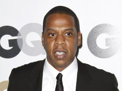 A hot topic: Jay-Z has scored several Grammy nominations as well.