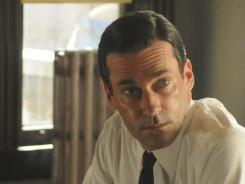 Jon Hamm and AMC's critically acclaimed drama 'Mad Men' return in March.