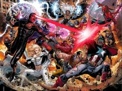 'Avengers vs. X-Men' pits Marvel Comics' two biggest superhero groups against one another next year.