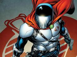 A new villain is wearing the helmet of Cobra Commander in IDW's G.I. Joe comics.