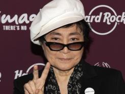 Peace: Yoko Ono will attend a John Lennon tribute concert in Tokyo.