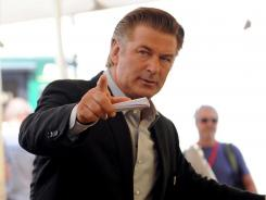 Not-so-friendly skies: Alec Baldwin made headlines for his Twitter beef with American Airlines after he was removed from a flight on Tuesday.