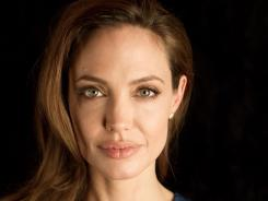 Speaking up: Angelina Jolie makes her directorial debut with 'In the Land of Blood and Honey,' a love story set during the Bosnian War.