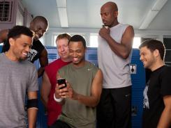 Dominic (Michael Ealy, left), Cedric (Kevin Hart), Bennett (Gary Owen), Michael (Terrence J), Zeke (Romany Malco) and Jeremy (Jerry Ferrara) try to turn the tables on women.