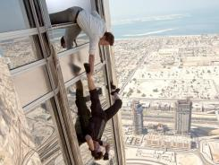 'Ghost Protocol': Jeremy Renner and Tom Cruise arrive Friday on IMAX.
