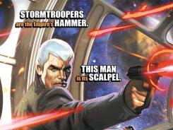 Jahan Cross is a new James Bond type introduced in 'Star Wars: Agent of the Empire.'