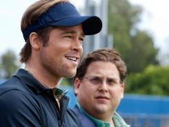 Brad Pitt and Jonah Hill were both nominated for Screen Actors Guild awards for their work on 'Moneyball.'