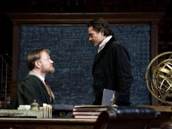 Jared Harris stars as Dr. James Moriarty opposite Robert Downey Jr. in 'Sherlock Holmes: A Game of Shadows.'