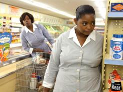 'The Help' scored SAG nods for best film, lead actress (Viola Davis, left) and supporting actress (Octavia Spencer).
