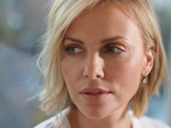 Charlize Theron stars as as struggling author in her new movie, which expands to theaters nationwide on Friday.